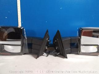 Ford Towing side mirrors folding