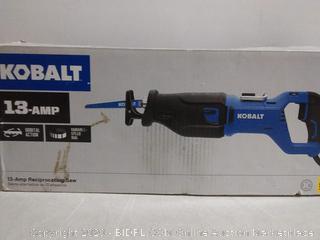 Kobalt 13-Amp Keyless Variable Speed Corded Reciprocating Saw (online $139)