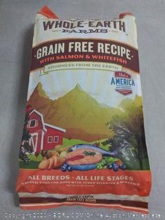 Whole Earth Farms Grain Free Recipe Salmon and Whitefish Dry (online $29)