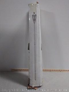 Starlite Garden and Patio PT-TB, Classic Pole Torche, Textured Black