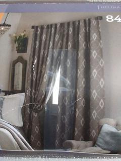 Allen and Roth room darkening curtains