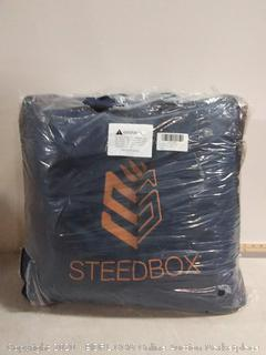 SteedBox Horse Winter Turnout Blanket 1200D Rip Stop | 210 Nylon Lining and 250g Fill with Carry Bag (online $117)