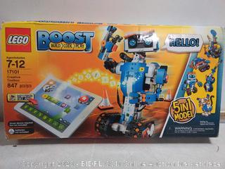 LEGO Boost Creative Toolbox 17101 Robot Building Set (online $127)