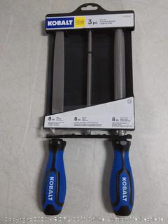 Kobalt 3-piece file set
