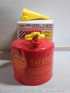 Eagle UI-50-FS 5 Gallon Safe Gasoline Can (can dented)