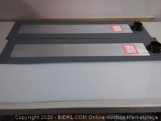 Crain 280 Heavy Duty Air Lifter footplates for Appliance Moving - these are the footplates only.
