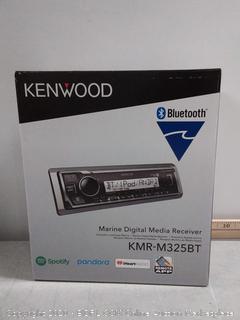 Kenwood KMR-M325BT Marine/Motorsports Digital Media Receiver (online $94)