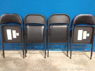 Cosco vinyl folding chair 4 pack (online $68)