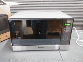 Panasonic Microwave Oven NN-SN686S Stainless Steel Countertop/Built-In with Inverter Technology and Genius Sensor, 1.2 Cu. Ft, 1200W(powers on)