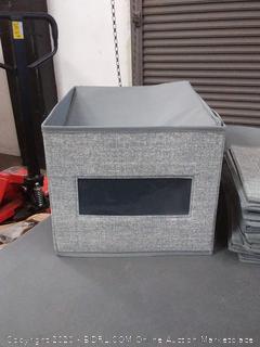 large gray storage boxes X6