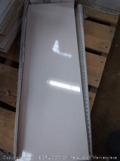 American Olean gloss white ceramic tile(1 box)
