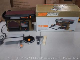 Rockwell ShopSeries RK7866 Belt Disc Sander (powers on)