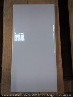 American Olean ceramic wall tile white(4 boxes)