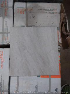 Aversa Frost ceramic tile 12 by 12 in(14 boxes)