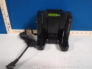 Greenworks Pro 60-volt lithium Max battery charger