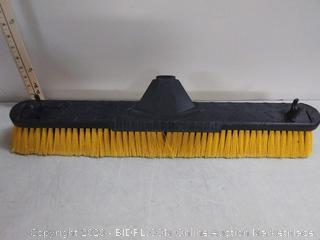 Push broom. No handle