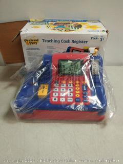 learning resources pretend & Play electronic teaching cash register