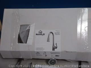 Home2O Zinnia (H70K-51D-CH)Chrome 1-handle Deck Mount Pull Faucet (online $101)