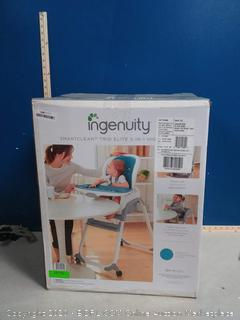 InGenuity™ SmartClean Trio Elite 3-in-1 Highchair™ Peacock Blue(Factory Sealed)COME PREVIEW!!!!! (online $105)