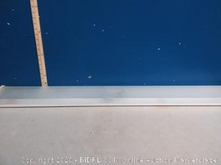 Lithonia 3348 2L32W - 4 ft. Fluorescent Wraparound(cracked)