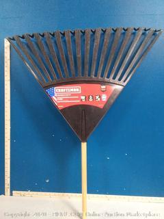 Craftsman rake leaf poly 30 in(handle broken)