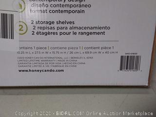Honey can do Bamboo shoe shelf.
