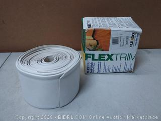 "FlexTrim Self-Stick Vinyl Wall Base True White 4"" x 20' 719381011856"