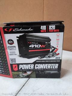 Schumacher's 420 watt power converter