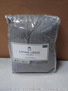 living logic large blackout curtains 42 x 95 in