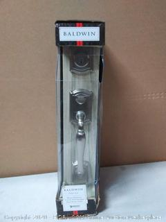 Baldwin Wesley Single Cylinder Front Door Handleset Featuring