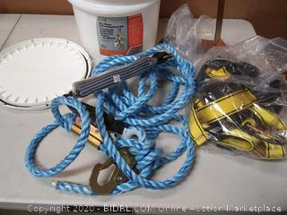 Safety Works Fall Protection kit Standard Size Harness10095901