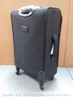Coolife Luggage Suitcase Spinner Softshell lightweight