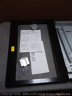 "GE Black 27"" Built-In Microwave Oven Trim Kit - JX7227DLBB"