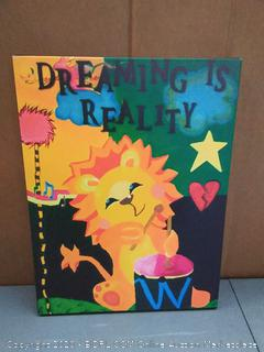 Dreaming is Reality by Amanda Rea, 18x24-Inch Canvas Wall Art