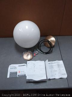 Sea Gull Lighting 6024-848 Leo - Hanging Globe One Light Pendant