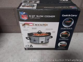 Crock-Pot 6-quart slow-cooker possibly damage, please preview pictures