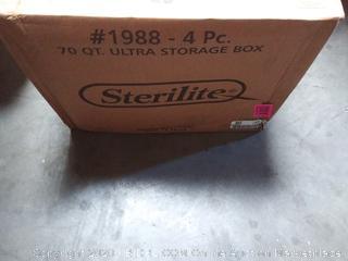 70 quart Ultra storage box Sterilite brand