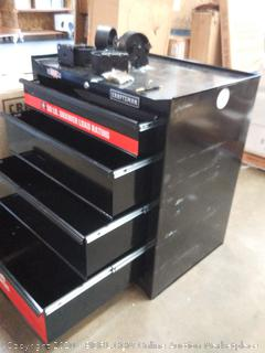 Craftsman roll around tool box with drawers( scratches and small dents)