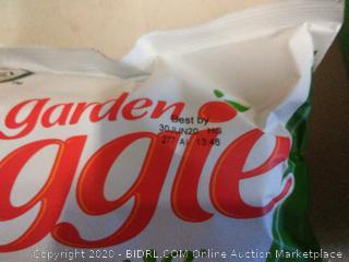 Garden veggie straws sea salt 3 count