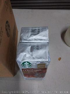 Starbucks Colombia Single-Origin Balanced&Nutty Medium Cofee x2