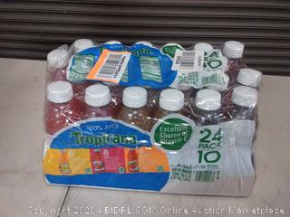 Tropicana 100% Juice 3-Flavor Fruit Blend Variety Pack, 10 Fl Oz