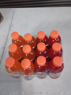 Gatorade 12 pack variety orange and fruit punch expiration date September 6th 20