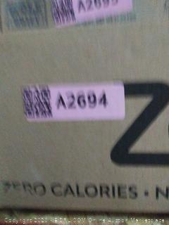 Zevia zero calorie soda 8 different flavors.