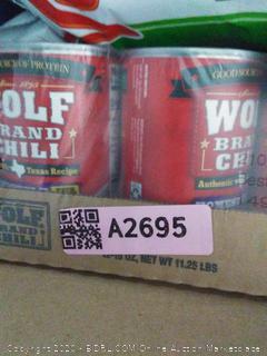 wolf Graham chili Homestyle 12-pack