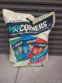 PopCorners Snacks Variety Pack | Kettle Corn, White | 810607023018