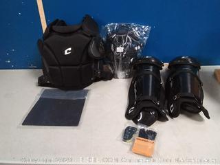 champro professional umpire gear (online $185)