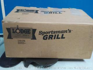 Lodge cast-iron Sportsman Grill