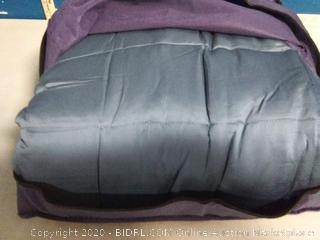 Ynm cooling weighted blanket dark grey