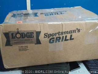 Lodge Cast Iron Sportsman's Large Charcoal Hibachi-Style Grill (online $99)
