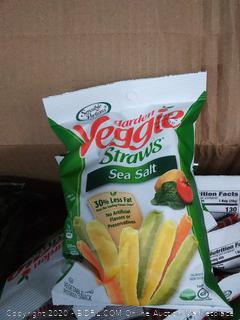 sensible portions veggie straws 24 count 1 oz bag